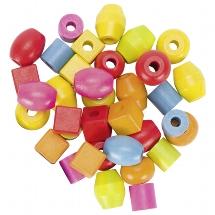 Bead set, cylinder Ø= 2 cm, H= 2 cm,