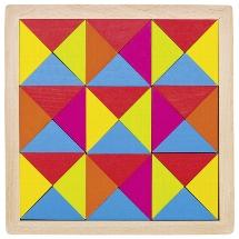 Mosaic puzzle rainbow II