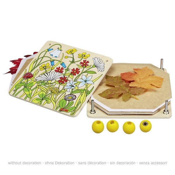Blumenpresse Frühlingswiese Goki 58603