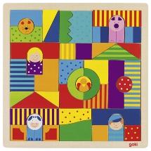 Mosaic puzzle, farm