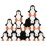 Penguin stacking game
