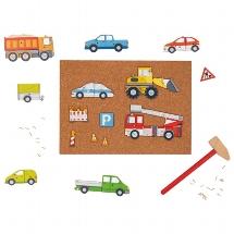 Hammer and nail game vehicles