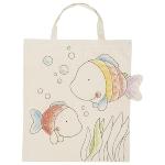 Cotton bag, Fish