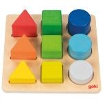 Formen- und Farbensortierbrett