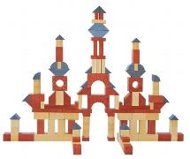 Kindergarten-Set mit Bauvorlagen