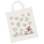 Cotton bag, Butterflies