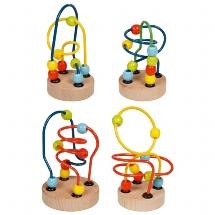 Mini bead maze
