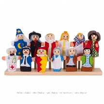 Assortment of fingerpuppets - Set 1