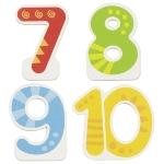 Zusätzliche  Zahlen 7, 8, 9, 10