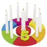 Geburtstagskranz Regenbogen