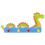 Coat rack, water snake