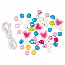 Wooden bead set, Susibelle