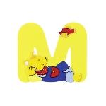 Buchstabe M
