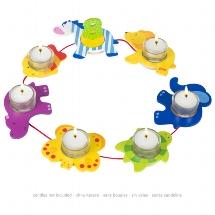 Birthday chain, animals