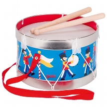 Tin drum, Guard motive, adjustable sound