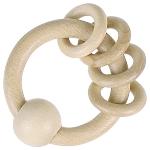 Greifling mit 4 Ringen, natur