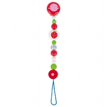 Soother chain strawberry