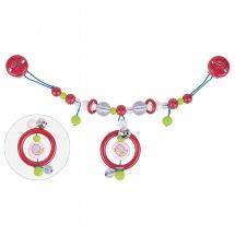 Pram chain bird with clips
