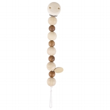Soother chain natural wood I
