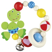 Touch ring elastic frog