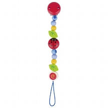 Soother chain ladybird I