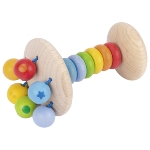 Touch ring elastic rattle rainbow