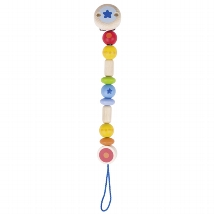 Soother chain rainbow