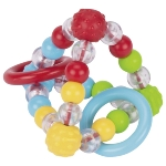 Touch ring elastic pyramid, knobbly beads