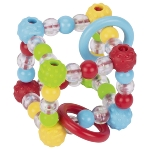 Touch ring elastic cube, knobbly beads