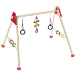 Baby gym clown, red