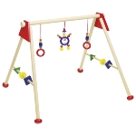 Baby gym red, unmounted, gym- and playtrainer