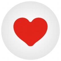 Click bead heart