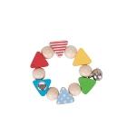 Hochet flexible confetti