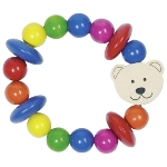 Touch ring elastic with bear