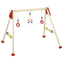 Baby gym bear, unmounted, gym- and playtrainer
