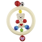 Touch ring heart bear
