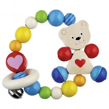 Touch ring elastic heart bear