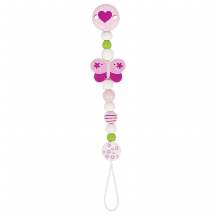 Soother chain butterfly