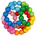 Touch ring elastic rainbow ball, big