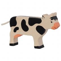 Cow,standing,black