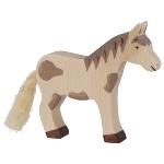Horse, standing, dappled