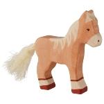 Foal, standing, light brown