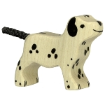 Dalmation, standing, small