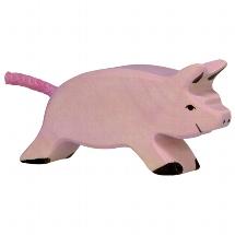 Piglet, running