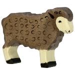 Schaf, stehend, schwarz
