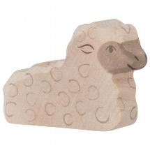 Lamb, lying