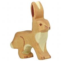 Hare, upright ears