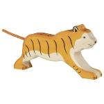 Tiger, running
