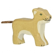 Lion, small, standing
