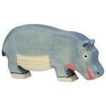 Hippopotamus, feeding